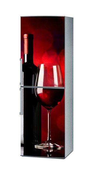 Maty Magnetyczne Na Lodówkę Czerwone Wino