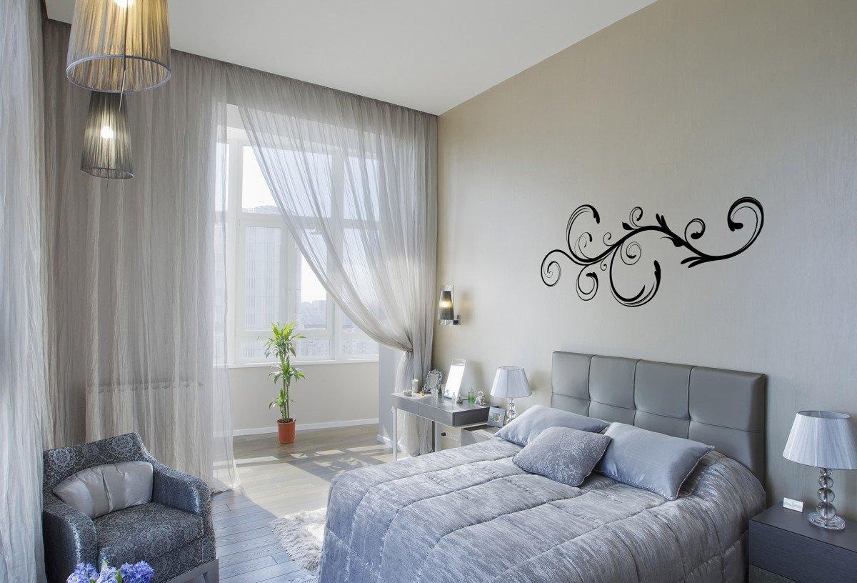 Naklejka Na ścianę Do Sypialni Motyw Roślinny 4 X0036