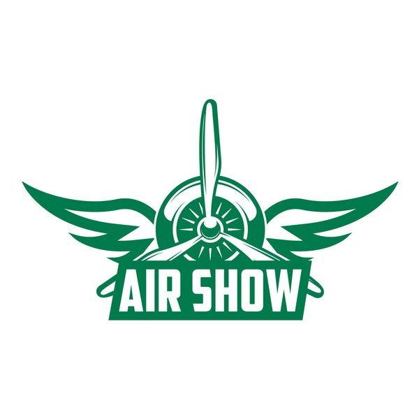 Naklejka na ścianę do salonu – Air show X0242