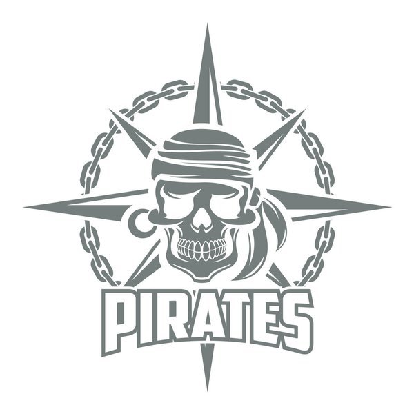 Naklejka na ścianę do salonu – Pirates 1 X0259